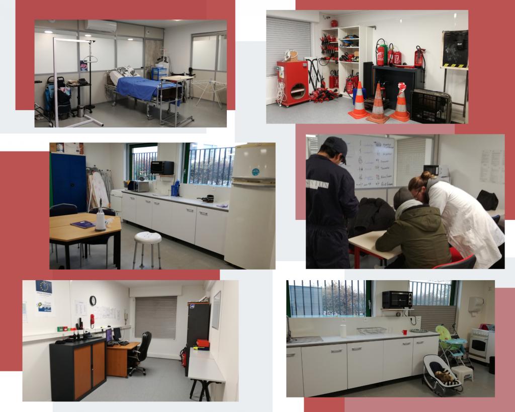 Locaux d'AmPhiA - vus de l'intérieur-équipements & matériels