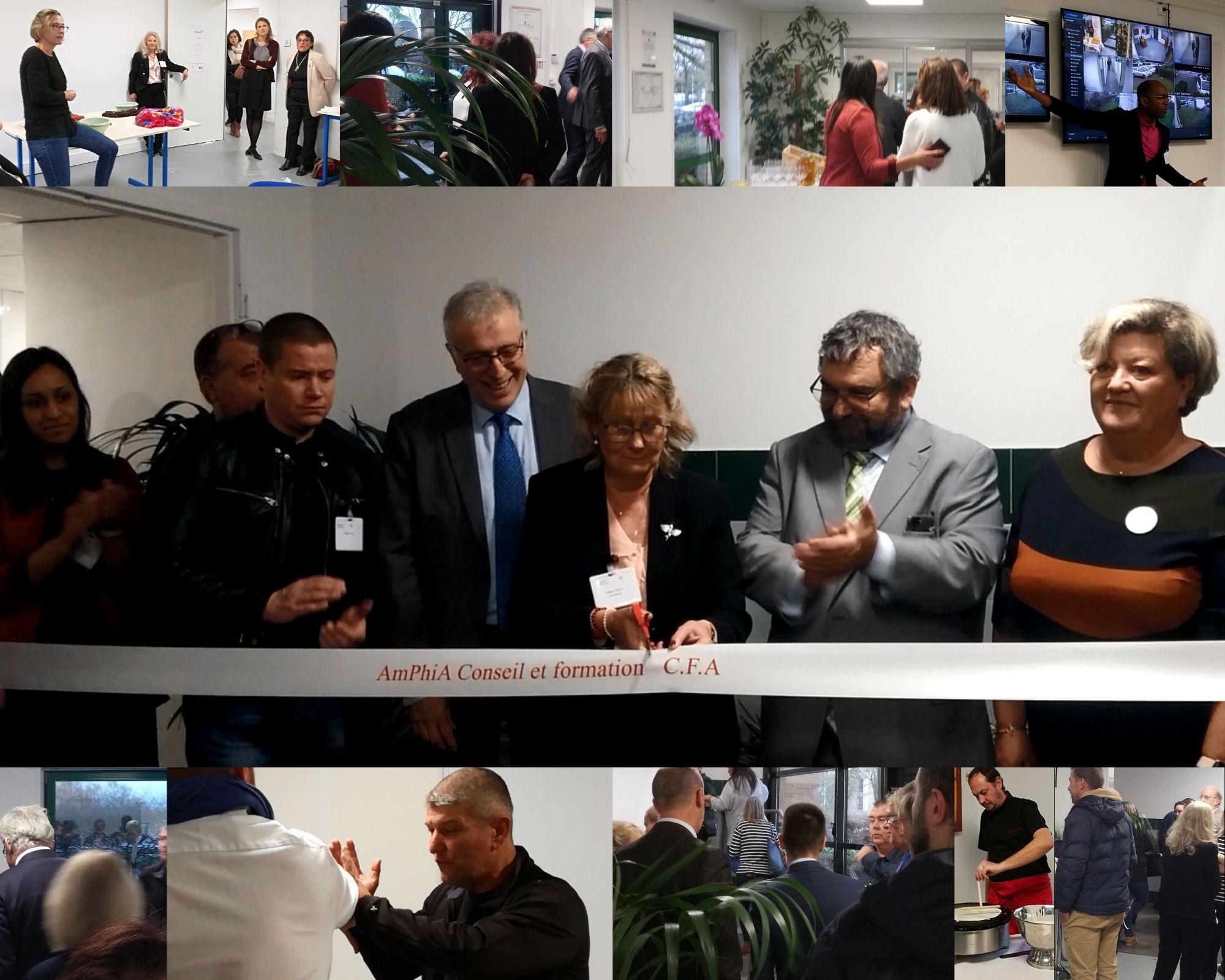 Photos de l'inauguration des nouveaux locaux d'AmPhiA